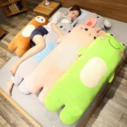 Cartoon animal plush toys - rabbit / monkey / mouse / frog - 70cm - 100cm