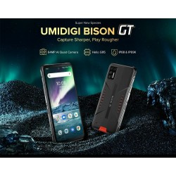 UMIDIGI BISON GT Global Bands - dual sim - 6.67 inch - NFC - 8GB 128GB - Android 10 - 4G - smartphone - EU Version