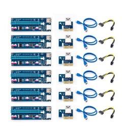 Karta rozszerzająca PCI-E 006C - bitcoin miner - 1x do 16x - USB 3.0
