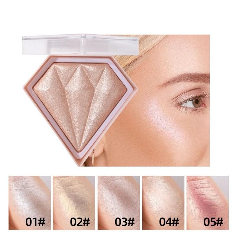 Face contour powder - highlighter - palette