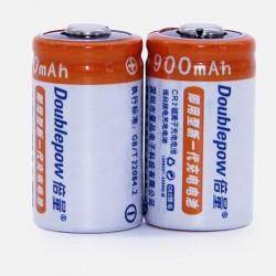 CR2 - 3V - 900mAh - LiFePO4 - bateria - ładowalna