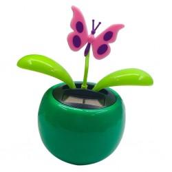 Swinging flower / heart - solar powered toy