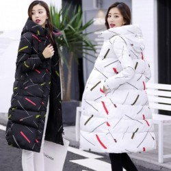 Ciepła / długa kurtka zimowa z kapturem i zamkiem błyskawicznym