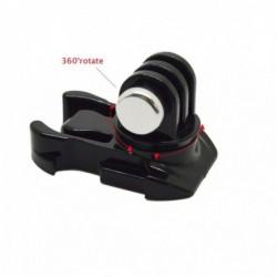Quick release buckle - 360 degree rotate - vertical surface mount - for Xiaomi Yi / GoPro Hero 7/6/5/4/3 SJCAM SJ4000 camera