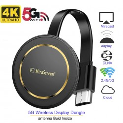 Mirascreen G14 2.4G - 4K - DLNA - AirPlay HD - pendrive TV - wyświetlacz WiFi - HDMI