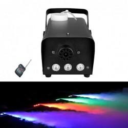 Mini wytwornica mgły - 500W - LED - RGB - bezprzewodowa - z pilotem