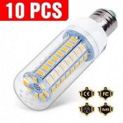 LED bulb - E14 - E27 - B22 - G9 - GU10 - 220V - 10 pieces