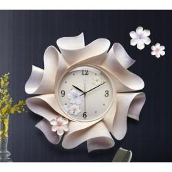 Trójwymiarowy dekoracyjny zegar ścienny - 57 * 57 cm