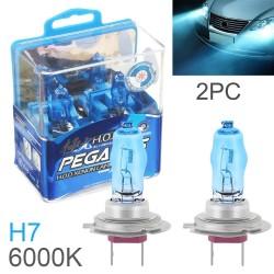 Halogenowe światła samochodowe - H1 / H3 / H4 / H7 / H9 / 880 / 881 / 9005 / 9006 - 2 sztuki
