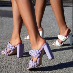 Fashionable sandals - thick...