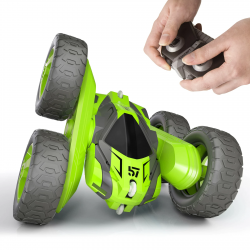 RC stunt car - 2.4GHz - 4 channels - with remote control / battery