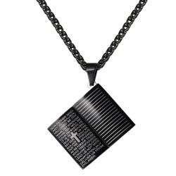 Holy Bible pendant - with...