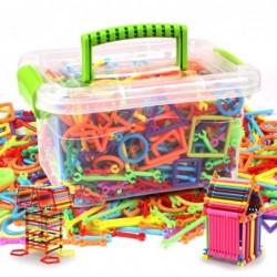 Plastic building blocks -...