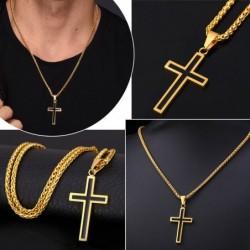 Pendant  cross and chain  -...
