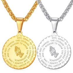 Medallion and chain  -...