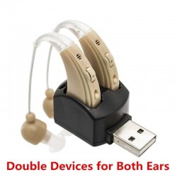 Hearing aid - ear sound...