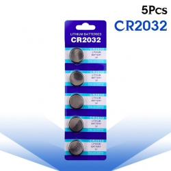 3V BR2032 DL2032 ECR2032 CR2032 Bateria litowa - guzikowe baterie - 5 sztuk