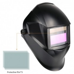 Automatic darkening solar welding mask - mask - cap - goggles -  for soldering work - facial and eye protection
