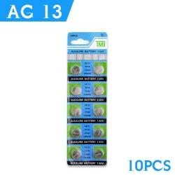 AG13 - 1,55V - bateria alkaliczna - 10 sztuk