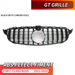 GT front grill - voor Mercedes Benz C Klasse