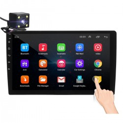 """ANDROID 8.1 - DIN-2 CAR RADIO - 10.1"""" TOUCH SCREEN - GPS - BLUETOOTH - FM - WIFI - MP3 - MIRRORLINK"""