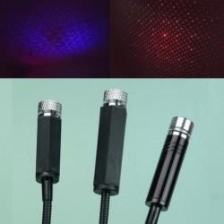 Mini night sky star projector - for interior car roof - LED - USB
