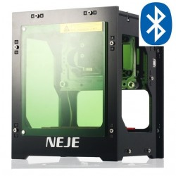 NEJE DK-8-FKZ - máquina de grabado láser - 1500mW - Bluetooth - versión de actualización