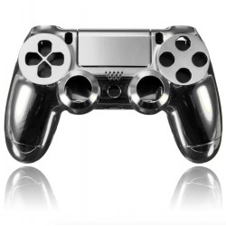 Playstation 4 Controller PS4 Behuizing Gouden - Chrome - Rood