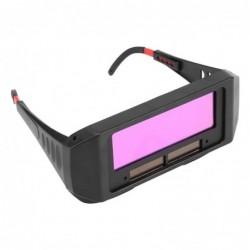 Solar automatic dimming welding protective mask welder glasses welding cap