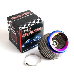 """Cold air intake filter - high flow - for racing cars - 3"""" - 76mm"""