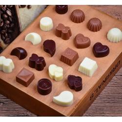 Siliconen mal - voor chocolade / gelei - non-stick