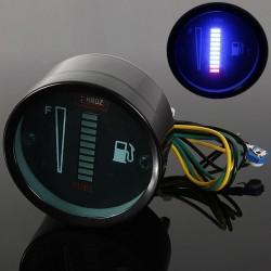 10 LED 12V Stop Aluminium Motocyklowy Samochodowy Czujnik Wskaźnik Poziomu Paliwa