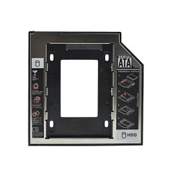 """Inserciòn hard drive universal 9.5mm SATA Caddy SSD HDD 3.0 2.5"""""""