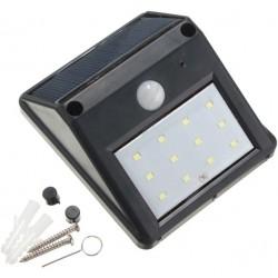 Lumière senseur mouvement à energie solaire impermèable 12 LED