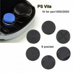 PlayStation Vita PS Silikonowe Przyciski Analogowe Okładki 6szt