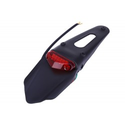 Motorcycle LED Brake Tail Light & Rear Fender