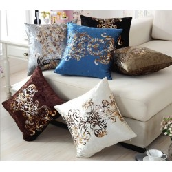 Golden print pillowcase cushion cover 45 * 45cm