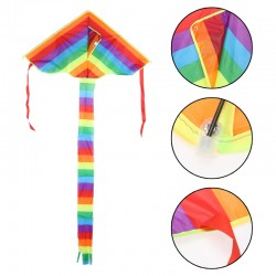 Rainbow Triangle Kite for Children