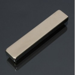 N50 Neodymium Magnet Strong Long Block 50 * 10 * 5mm