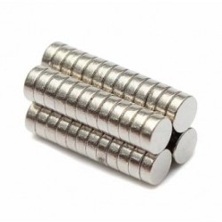 N52 Neodymium Magnet Strong Disc 3 * 1mm 50pcs