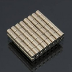 N50 Neodymium Magnet Strong Round Disc 3 * 4mm 100pcs