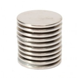 N35 Neodymium Magnet Strong Round Disc 25 * 2mm 10pcs
