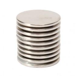 N35 Neodymowy Magnes Silny Okrągły Dysk 25 * 2mm 10szt