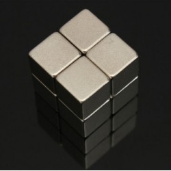 N52 Neodymowy Magnes Silny Blok 10 * 10 * 10mm 8szt