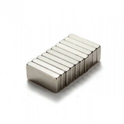 N35 Neodymowy Magnes Silny Blok Prostopadłościan 10 * 5 * 2mm 10szt