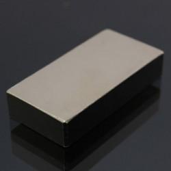 N50 Neodymowy Magnes Silny Blok Prostopadłościan 50 * 25 * 10mm