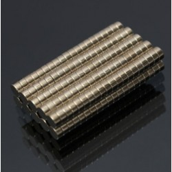 N35 Neodymowy Magnes Silny Okrągły Dysk 3 * 1.5mm 200szt