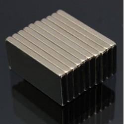 N52 Neodymium Magnet Block 20 * 10 * 2mm 10 Stück |