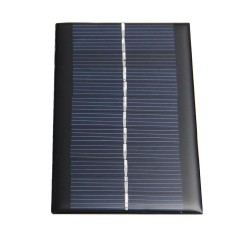 Mini 6V 1W Bank Energii Słonecznej
