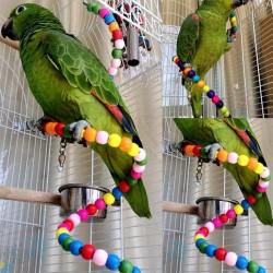 Schaukel Holz Vogel Leiter Spielzeug 100cm
